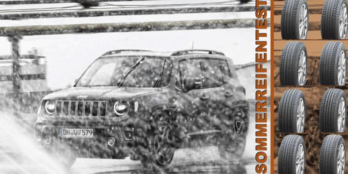 Test SUV-Sommerreifen: Vergleichstest von Auto Bild 2021