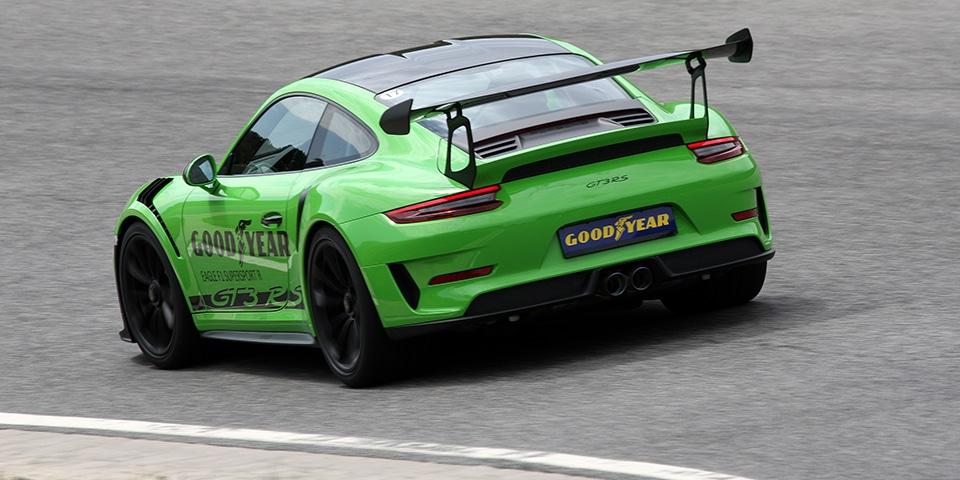 Test Goodyear Eagle F1 Supersport RS Porsche