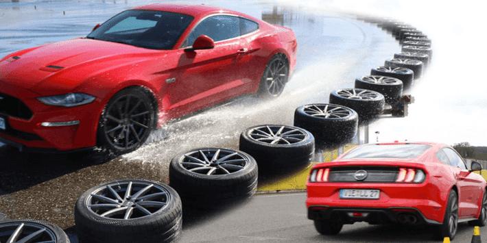 Reifentest sportliche Sommerreifen 2021: Auto Bild vergleicht die besten Sportreifen auf dem Mustang GT miteinander